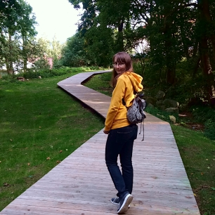 W parku w centrum Karpacza